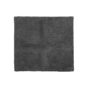 Szary bawełniany dywanik łazienkowy Tiseco Home Studio Luca, 60x60 cm obraz