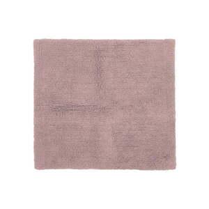 Różowy bawełniany dywanik łazienkowy Tiseco Home Studio Luca, 60x60 cm obraz