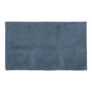 Niebieski bawełniany dywanik łazienkowy Tiseco Home Studio Luca, 60x100 cm obraz