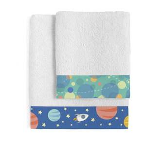 Zestaw 2 ręczników Happynois Astronaut obraz