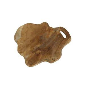 Deska do krojenia z drewna tekowego HSM Collection Flate, dł. 38 cm obraz