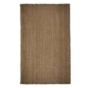 Brązowy dywan z juty Flair Rugs Jute, 160x230 cm obraz