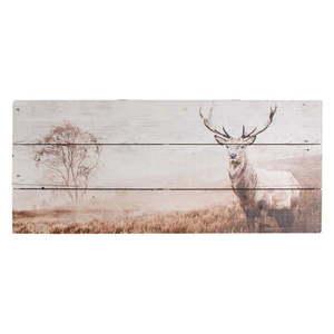 Drewniany obraz Graham & Brown Stag, 70x30 cm obraz