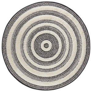 Szaro-biały dywan Mint Rugs Handira Circle, ⌀ 160 cm obraz