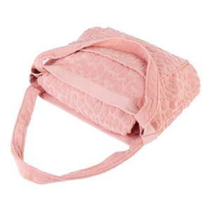 Różowa torba i ręcznik plażowy w jednym Sunnylife Terry obraz