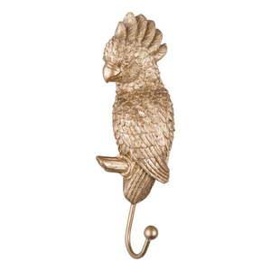 Haczyk w kolorze złota w kształcie papugi Leitmotiv Kakadu obraz