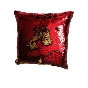 Poszewka na poduszkę czerwony, 40 x 40 cm obraz
