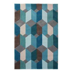 Niebieski dywan Flair Rugs Scope, 80x150 cm obraz