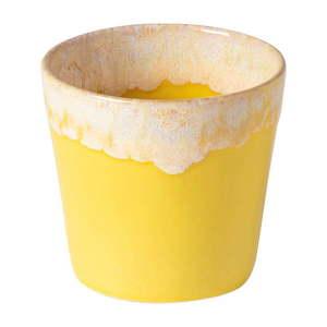 Biało-żółta kamionkowa filiżanka do espresso Costa Nova, 200 ml obraz