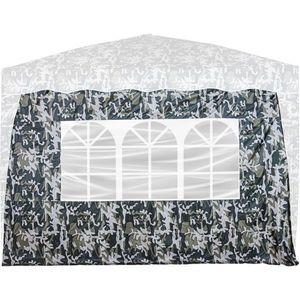 Ściana boczna z 3 oknami, miejska, do namiotu INSTENT BASIC obraz