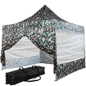 INSTENT PRO Namiot ogrodowy 3 x 3 m, leśny, 4 panele boczne obraz