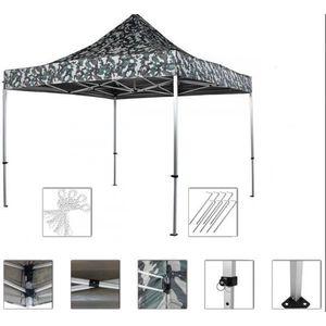 INSTENT PRO Namiot ogrodowy 3 x 3 m, Urban + 2 boki obraz