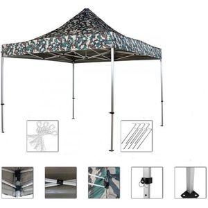 INSTENT PRO Namiot ogrodowy 3 x 3 m, woodland + 2 boki obraz