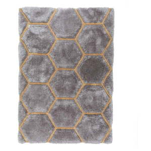 Szary dywan Flair Rugs Honeycomb, 120x170 cm obraz