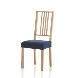 Forbyt, Pokrowiec na siedzisko krzesła, Petra komplet 2 szt., niebieski obraz
