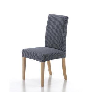 Forbyt, Pokrowiec na całe krzesło, Wzór Sada zestaw 2 szt, niebieski obraz