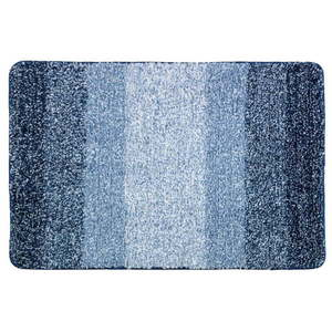 Niebieski dywanik łazienkowy Wenko Luso, 60x90 cm obraz