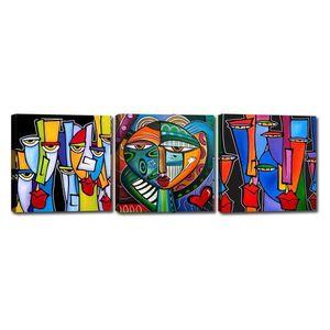 Zestaw 3 obrazów Tablo Center Pisasso obraz