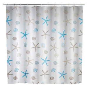 Zasłona prysznicowa Wenko Bella Mare, 180x200 cm obraz