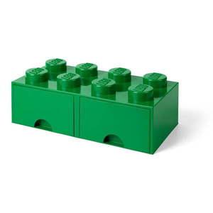Zielony pojemnik LEGO® obraz