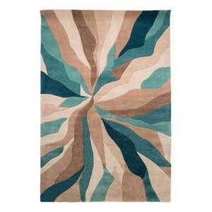 Niebieski dywan Flair Rugs Splinter, 160x220 cm obraz