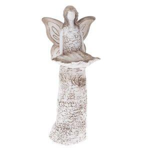 Poidełko ceramiczne Anioł, 14, 2 x 37, 2 x 11, 6 cm obraz