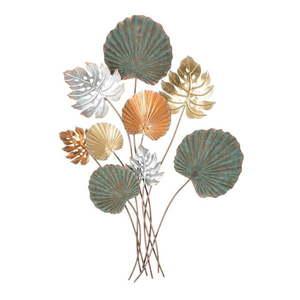 Żelazna dekoracja ścienna z motywem liści Mauro Ferretti Lop, wys.99 cm obraz