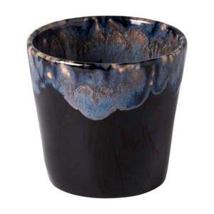 Niebiesko-czarna kamionkowa filiżanka do espresso Costa Nova, 200 ml obraz