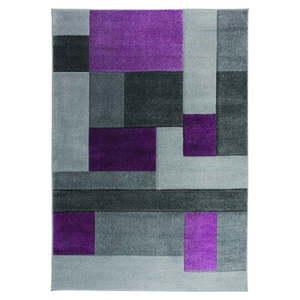 Szaro-fioletowy dywan Flair Rugs Cosmos, 120x170 cm obraz