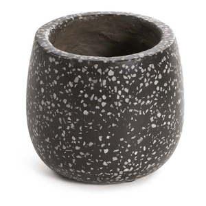 Czarno-szara betonowa doniczka La Forma Braydon obraz