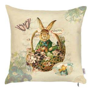 Poszewka na poduszkę Apolena Easter Rabbit, 43x43 cm obraz