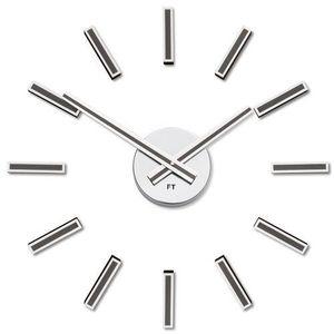 Future Time FT9400TT Modular titanium Designowe zegar samoprzylepny, śr. 40 cm obraz