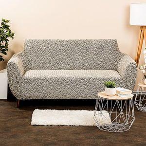 4Home Multielastyczny pokrowiec na kanapę Comfort Plus beżowy, 140 - 180 cm, 140 - 180 cm obraz