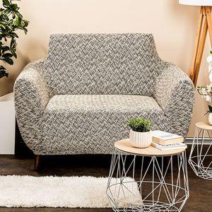 4Home Multielastyczny pokrowiec na fotel Comfort Plus beżowy, 70 - 110 cm, 70 - 110 cm obraz