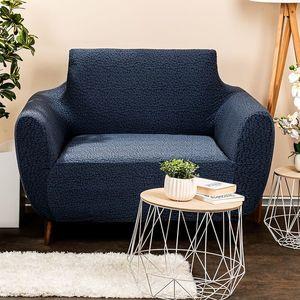 4Home Multielastyczny pokrowiec na fotel Comfort Plus niebieski, 70 - 110 cm, 70 - 110 cm obraz