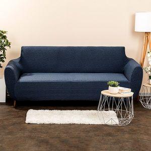 4Home Multielastyczny pokrowiec na kanapę ComfortPlus niebieski, 180 - 220 cm, 180 - 220 cm obraz