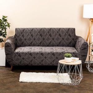 4Home Multielastyczny pokrowiec na kanapę Comfort Plus szary, 140 - 180 cm, 140 - 180 cm obraz