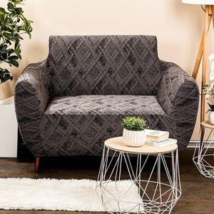 4Home Multielastyczny pokrowiec na fotel Comfort Plus szary, 70 - 110 cm, 70 - 110 cm obraz