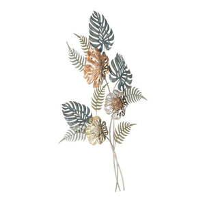 Żelazna dekoracja ścienna z przyrodniczymi motywami Mauro Ferretti Too, wys.98 cm obraz