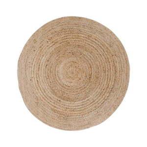 Jasnobrązowy okrągły dywan House Nordic Bombay, ø 90 cm obraz