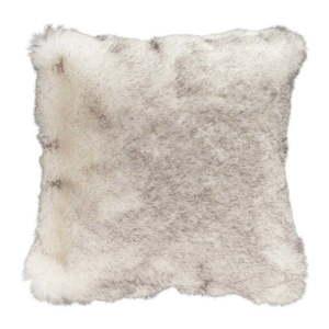 Brązowa poduszka ze sztucznej skóry Mint Rugs Soft, 43x43 cm obraz