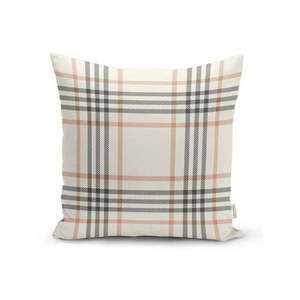 Szaro-beżowa dekoracyjna poszewka na poduszkę Minimalist Cushion Covers Burberry, 35x55 cm obraz