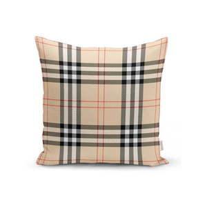 Beżowa dekoracyjna poszewka na poduszkę Minimalist Cushion Covers Burberry, 35x55 cm obraz