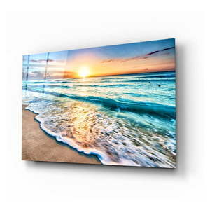 Szklany obraz Insigne Sunset I, 72x46 cm obraz