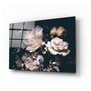 Szklany obraz Insigne Bouquet, 72x46 cm obraz