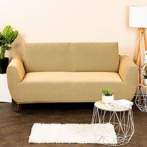 4Home Multielastyczny pokrowiec na kanapę 2-os. Comfort, beżowy, 140 - 180 cm, 140 - 180 cm obraz