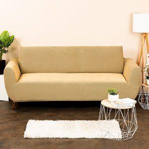 4Home Multielastyczny pokrowiec na kanapę Comfort, beżowy, 180 - 220 cm, 180 - 220 cm obraz