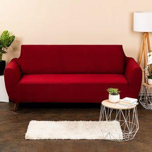 4Home Multielastyczny pokrowiec na kanapę Comfort, bordo, 180 - 220 cm, 180 - 220 cm obraz