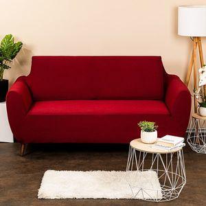 4Home Multielastyczny pokrowiec na kanapę 2-os. Comfort, bordo, 140 - 180 cm, 140 - 180 cm obraz