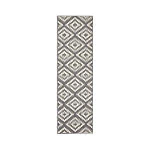 Szaro-biały chodnik Hanse Home Jenny, 80x500 cm obraz